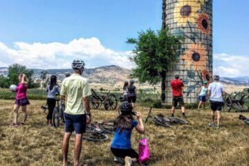 bike-to-farm tour